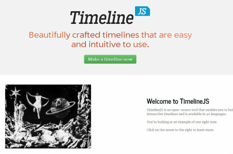 Timeline with Knightlab PD - Home